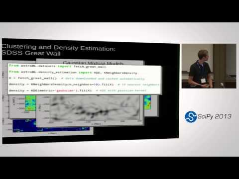Image from Opening Up Astronomy with Python and AstroML; SciPy 2013 Presentation