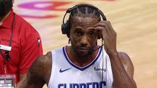 Kawhi Leonard Postgame Interview Clippers win vs Toronto Raptors
