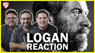 Logan   Official Trailer Reaction