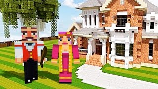 PLAYING MINECRAFT WITH MY GIRLFRIEND #1