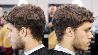 KRIS HUMPHRIES LOW FADE TEXTURED TOP BARBER TUTORIAL