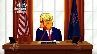 Cartoon Donald Trump Has A Few Thoughts For Australia