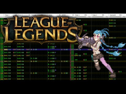 League of Legends - Get Jinxed [Famitracker; VRC6]