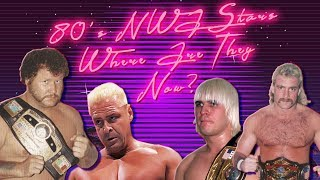 80's NWA Wrestlers: Where Are They NOW!?