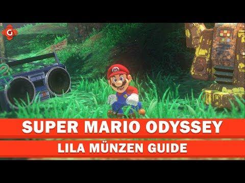 Alle 40 Monde Und 50 Münzen Im Kaskadenland Super Mario Odyssey