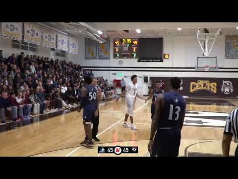 Block Charge  Leads Play  C Blows And Shows   Chino Hills VS Crespi
