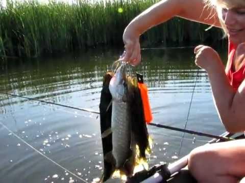 Женская рыбалка в Жирновске 9