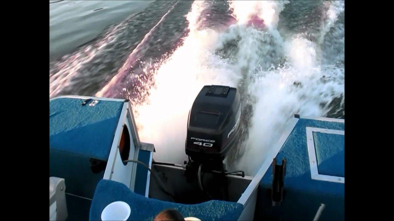 Fisher Pontoon Boat