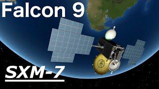 Falcon 9 - SXM-7 | Mission Breakdown (Kerbal Space Program)