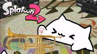 Bongo Cat but it's Splatoon 2