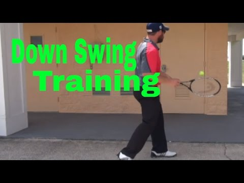 How To Train The Down Swing-Golf TIp For Beginners and Advanced-Golf Lesson