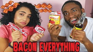 EVERYTHING BACON CHALLENGE!!!!