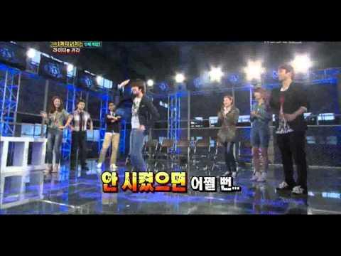 110611 Kim Hee Chul Dancing to f(x)'s Pinocchio (Danger)