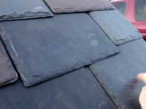Authentic Roof Synthetic Slate Survives The Hammer Test