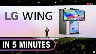 LG Wing launch event in 5 minutes