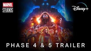 MCU Phase 4 & 5 (2021-2025) | TRAILER | Marvel Studios & Disney+