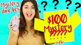 ETSY MYSTERY SLIME BOX $100 VS $2 SLIME BOXES | Slimeatory #229