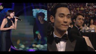 Kim Soo Hyun's reaction on Baek Seung Chan & Cindy (IU) scene FULL | ALi - Two Of Us Live