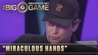 The Big Game S1 ♠️ W1, E3 ♠️ CRAZY game for Phil Hellmuth ♠️ PokerStars Global
