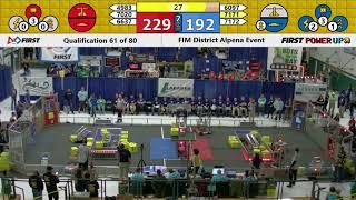 2018 Alpena Qualification Match 61