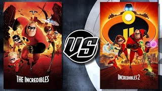 The Incredibles VS The Incredibles 2