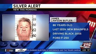 Silver Alert issued for missing Comal County man