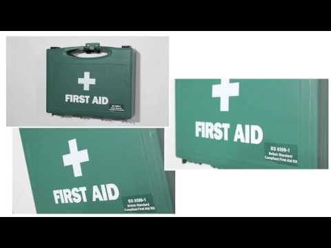 Safety First Aid Workplace Value First Aid Kit British Standard Compliant - Small