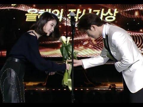 GOT7 Jinyoung, IU and TWICE