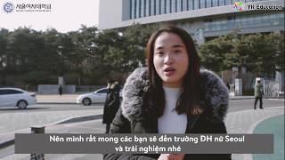 [Du học Hàn Quốc] Tham quan trường ĐH Nữ Seoul cùng du học sinh