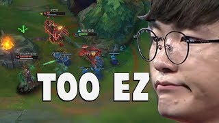 """When Faker Does His """"Playmaker"""" Moves Again... 