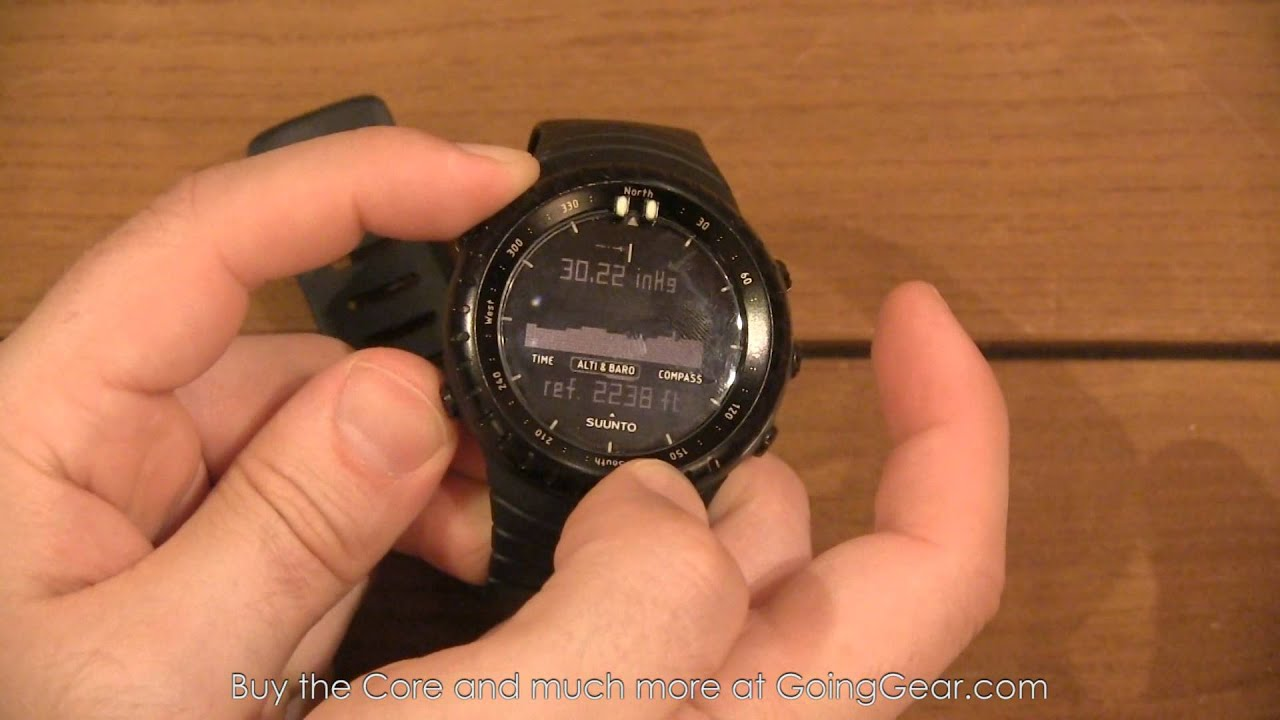 Suunto Core Orange Black Watch Review Famous Guy Actors Ultimate Extreme Edition Silver Ablogtowatch