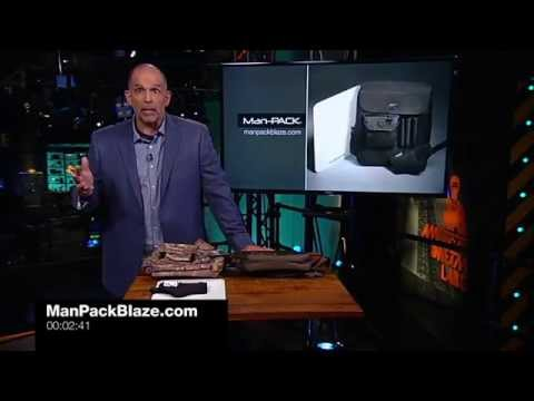 Man-PACK on the Glenn Beck Show (Blaze TV Network)