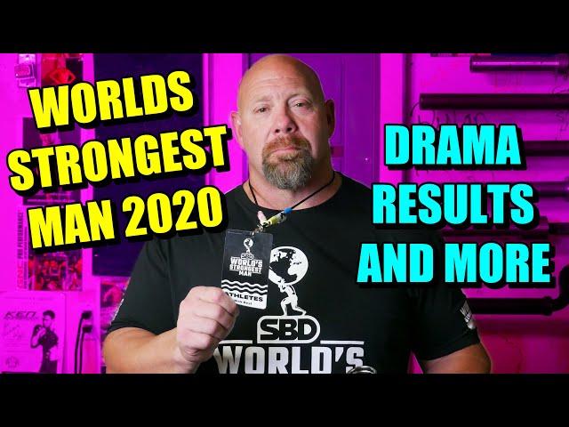 轉載:2020年世界最強大力士比賽最新消息、幕後花絮以及更多⋯