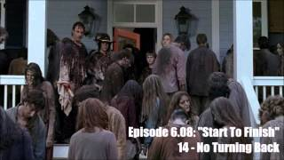 The Walking Dead - Season 6 OST - 6.08 - 14: No Turning Back