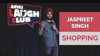 Shopping with wife | Jaspreet Singh Stand-Up Comedy
