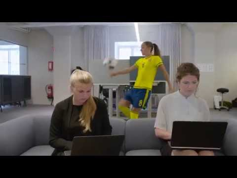 Academic Work ♥ Fotbollslandslaget - The Message