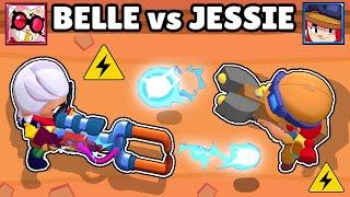 ⚡ BELLE vs JESIIE ⚡ | 1vs1 | NUEVA BRAWLER | BRAWL STARS