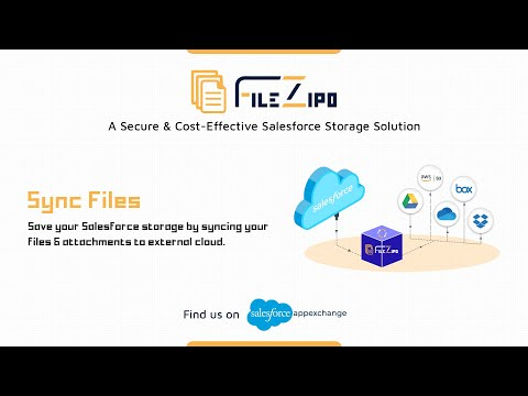 Sync Salesforce Files & Attachments to External Cloud | File ZIPO