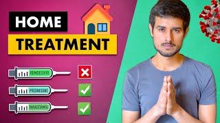 COVID Home Treatment Oxygen Procedure Remdesivir vs Other Medicine Dhruv Rathee Video HD