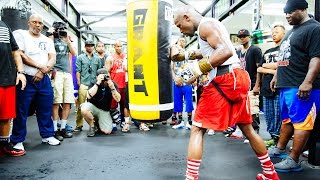 Floyd Mayweather: Open Workout   Wednesday, August 26