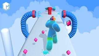 Blob Runner 3D - All Levels Gameplay Walkthrough - Android or IOS Mobile Game