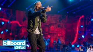 Eminem Unleashes Anti-Trump Freestyle 'The Storm' at BET Hip-Hop Awards | Billboard News