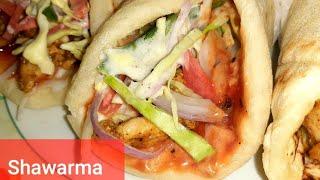 Homemade Chicken Shawarma Recipe  Easy and Instant Chicken Shawarma    Pakistani Shawarma