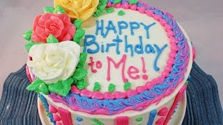 How to Make a Birthday Cake ~Beginners Tutorial