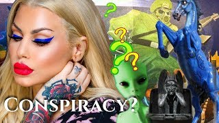 *Conspiracy Blucifer the veiny horse is low key demonic-MurderMystery&Makeup GRWM | Bailey Sarian