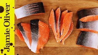 How to Fillet a Salmon or Trout | Jamie Oliver