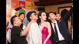 Glee' hé lộ tình tay ba Angela Phương Trinh, Rocker Nguyễn và Hữu Vi