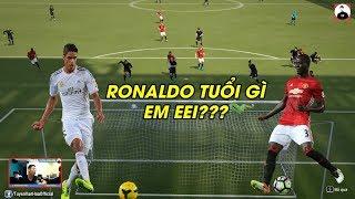 Fifa Online 4   Giật mình khi Bailly và Varane đá tiền đạo sút kinh hơn cả Ronaldo