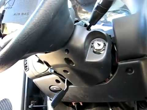 Ignition Lock Cylinder Removal Youtube