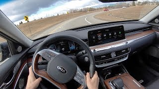 2019 Kia K900 Luxury VIP Package - POV First Impressions